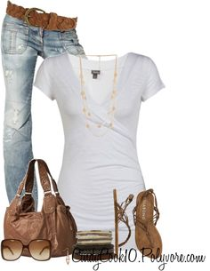 """My Go To Look"" by cindycook10 on Polyvore"