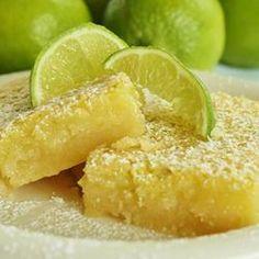 Lime Bars Allrecipes.com