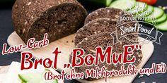 """Low-Carb Brot """"BoMuE"""" ❌ Ein Brot ohne Milchprodukte und Ei"""