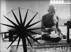 5 Things Gandhi Can Teach Us About Body Image . Read the full post on http://www.yourbreastself.com/5-things-gandhi-can-teach-us-body-image/
