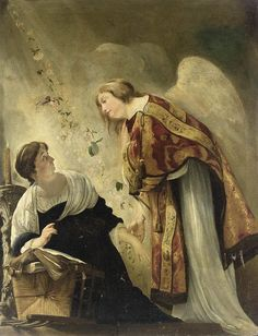 The Annunciation by Paulus Bor