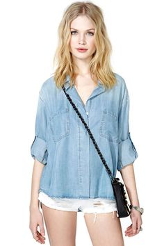Open Road Chambray Top
