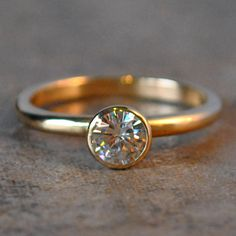 forever brilliant moissanite engagement ring by jhollywooddesigns