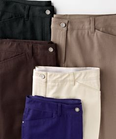 The much-loved Getaway in a new So Slimming™ fit. In five fabulous colors. #SoSlimming #Getaway #chicos  The basics :)