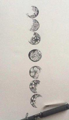lua, flor