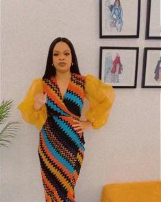 Short African Dresses, Latest African Fashion Dresses, African Print Dresses, African Print Fashion, Ankara Styles For Women, Ankara Short Gown Styles, Elegant Chic, Elegant Woman, Ankara Dress Designs