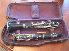 Antique Clarinet / M. Dupont Paris / Antique by circaonetsy