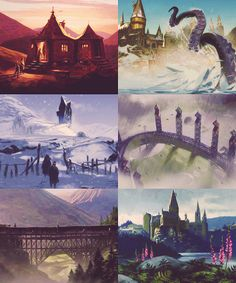 Harry Potter and the Prisoner of Azkaban concept art