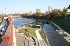 The view of Minneapolis Riverfront District, Minneapolis, Minnesota-USA (Original, 2006).
