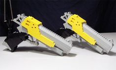 Lego Guns Are Oh-Too-Cool