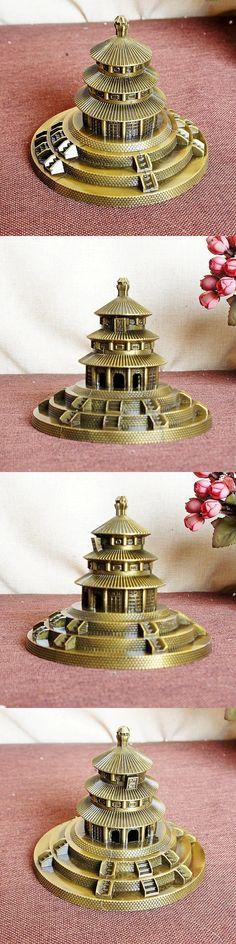 Beijing Tiantan model metal craft desktop home decor souvenir gifts photography props