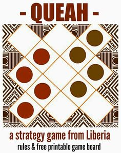 This is a game that they play in Western Africa, especially Liberia. It is a fun family game that brings people together.