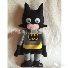 baby batman - pupazzo in stoffa