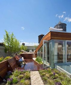 I want a roof top garden.
