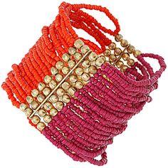 Stretch Multi-Bead Cuff .. dorothyperkins.com