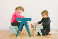 The Walrus Family / playful furniture for kids  http://vurni.com/the-walrus-family-by-nimio/