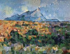 Paul Cezanne:Mont Sainte Victoire5