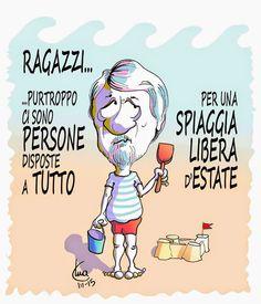 #poletti #satira #politica #estate #vacanze #IoSeguoItalianComics