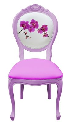 Bespoke Orchid Dinning Chair