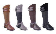 Anna Nb200-17 Women's Knee High Riding Boots