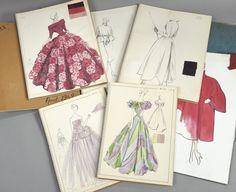 Marcelle Chaumont (1891-1990), Trois lots de carnets de croquis au crayon, à la gouache et à l'encre des années 1948 à 1952. 14 x 10 à 52 x 35 cm. Estimations : 300 à 800 €. Mardi 3 novembre, salle 5 - Drouot-Richelieu. Brissonneau SVV. M. Maraval-Hutin.
