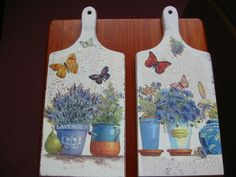 decoupage -----  cutting board------------- deska do krojenia -------  1254_20120210124241_IMG_4782.jpg (500×375)