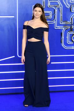 Danielle Copperman at Ready Player One Premiere
