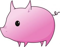 Cute pig vector art free Free vector for free download about (4 ...
