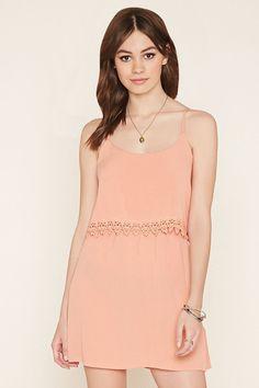 PEDIDOS SOLO POR #ENCARGO Código: F-14 Crochet-Trimmed Cami Dress Color: Peach Talla: XS-S-M-L-XL Precio: ₡18.000 ($33,21)  Whatsapp ☎8963-3317, escribir al inbox o maya.boutique@hotmail.com  Envíos a todo el país. #MayaBoutiqueCR ❤