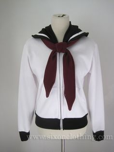 Hey, I found this really awesome Etsy listing at https://www.etsy.com/listing/187982295/sailor-pluto-seifuku-hoodie-jacket