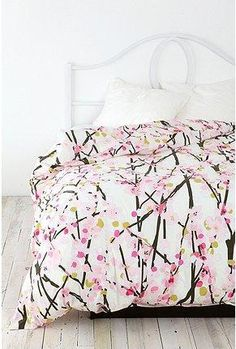 Cherry Blossoms Comforter Set Queen Size for Girls Women Japanese Red Floral Decor Bedding Set Adult Teens Japanese Style Quilted Coverlet Ukiyoe Theme Soft Bed Cover Mount Fuji Pattern Coverlet Set