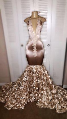 Black Girl Prom Dresses, Senior Prom Dresses, African Prom Dresses, Pretty Prom Dresses, Prom Dresses Long With Sleeves, Glam Dresses, Prom Outfits, Mermaid Prom Dresses, Dress Prom
