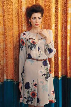 must stop looking at anthropologie instantly. ottoman poppies dress.