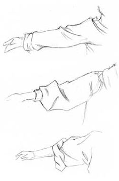 Drawing tutorial art how to draw sleeves http://www.pinterest.com/hoyn/drawing-tutorials/
