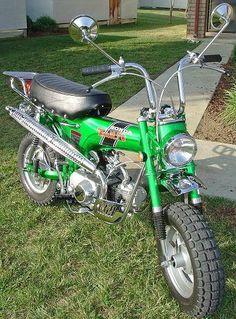 Let's See Everyone's and Dax - Page 4 Mini Chopper Motorcycle, Mini Motorbike, Enduro Motorcycle, Motorcycle Types, Vintage Honda Motorcycles, Honda Bikes, Vintage Moped, Honda Motors, Pit Bike