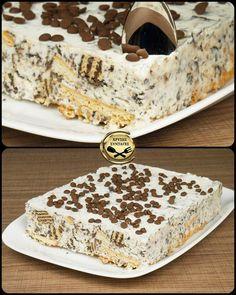 Delicious Desserts, Yummy Food, Greek Desserts, Macaron Recipe, Sweets Cake, Sweet Life, Nutella, Cake Recipes, Cheesecake