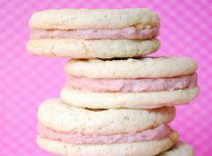 Sandwich Cookies - raspberry buttercream