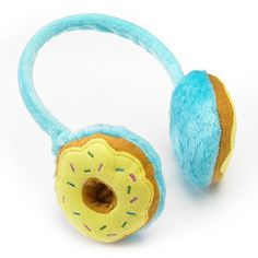 Donut earmuffs! Why didn't I think of this?!