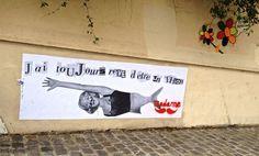 Monmartre graffiti