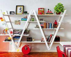 Totally Inspiring DIY Home Bookshelves