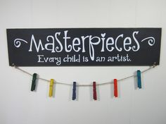 Masterpieces Every Child is An Artist by AllyBoosCreations
