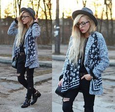 Get this look: http://lb.nu/look/7354168  More looks by Aneta M: http://lb.nu/anetaaneta  Items in this look:  Romwe Coat   #casual #grunge #street