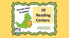 These 10 reading centers are just right for the end of second and the beginning of third grade.  There are 10 centers with 10 items each.  Some of the topics are compound words, ending punctution, synonyms, rhyming words, and ABC order by the second letter.