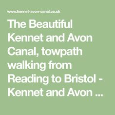 The Beautiful Kennet and Avon Canal, towpath walking from Reading to Bristol - Kennet and Avon Canal Turf Locks, Lock Flights, Bridges, photos, features.