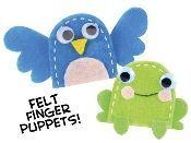 Felt Finger Puppets                                                                                                                                                                                 More