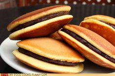Pancake Sammich - looks better than pigs in a blanket!!!!