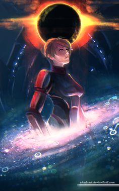 Mass Effect by shalizeh.deviantart.com on @DeviantArt
