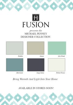 Fusion Mineral Based Furniture Paint | Michael Penney Designer Collection, available at oldredbarn.be
