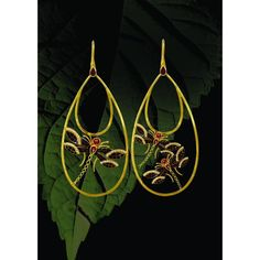 Maya Jewels- dragonfly earrings