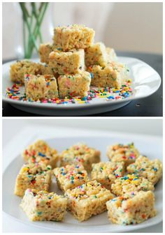 Ingredients:  3 Tablespoons unsalted butter 1 (10 oz.) bag of marshmallows 2/3 cup boxed yellow or white cake mix _(the dry cake mix, not th...